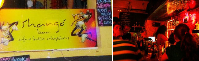 Shango Latin bar