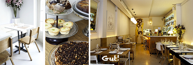 Barcelona restaurant Gut