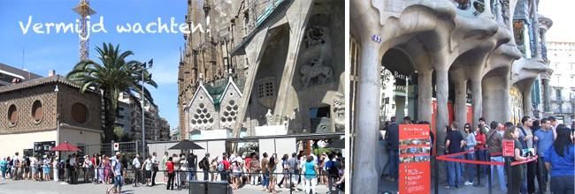 Wachtrij Barcelona